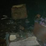 Zniszczona kapliczka