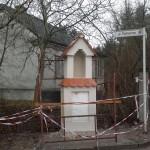 Odbudowa kapliczki